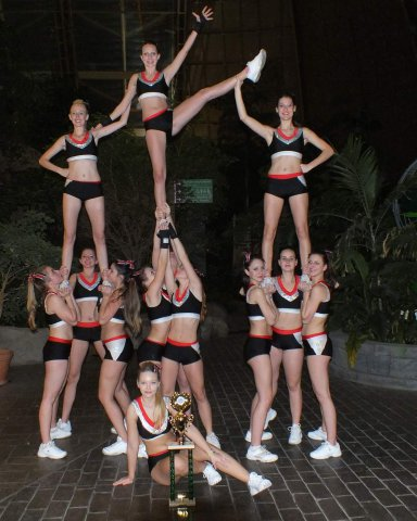 Elite Beach Cup 2013 - seniorské cheerleaders